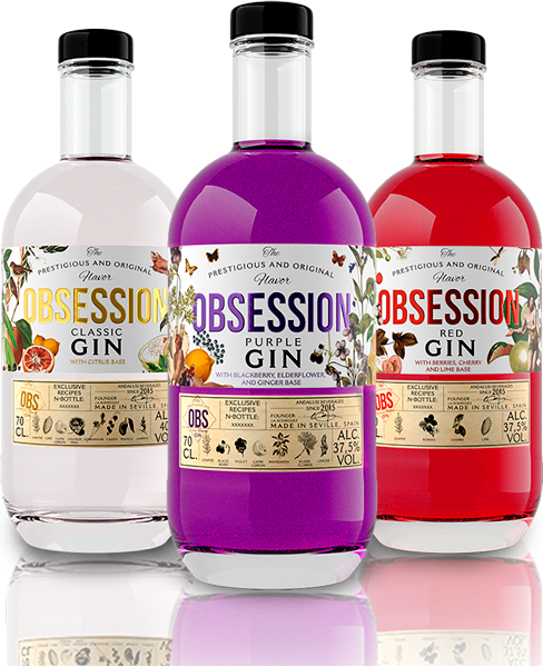 Classic Purple Red | Obsession Gin
