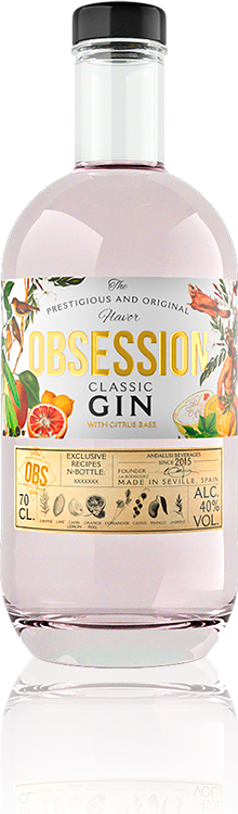 Obsession Gin Classic | Andalusí Licores