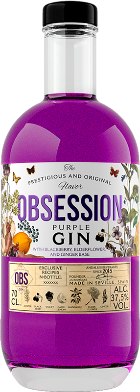Obsession Gin Purple | Obsession Gin