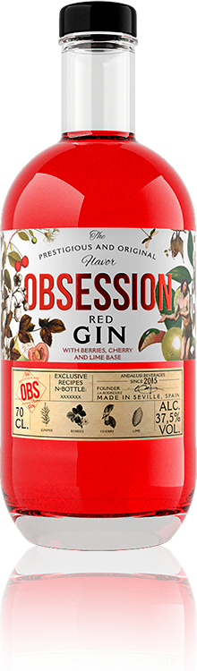 Obsession Gin Red | Andalusí Licores