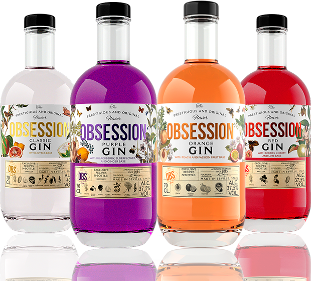 Nuestras Ginebras | Obsession Gin